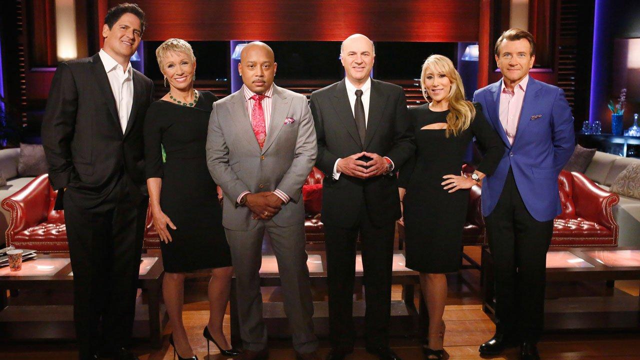 Shark Tank Cast - Lori Greiner, Mark Cuban, Robert Herjavec Kevin O'Leary, Daymond John, Barbara Corcoran