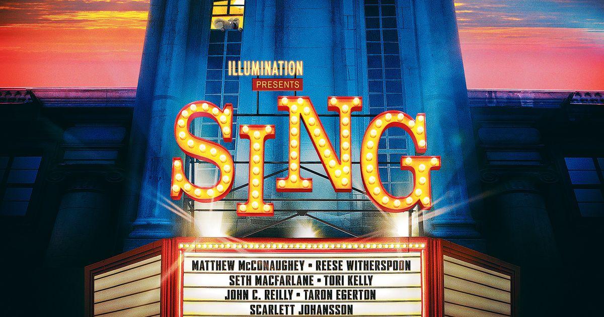 Sing Animated Movie 2016