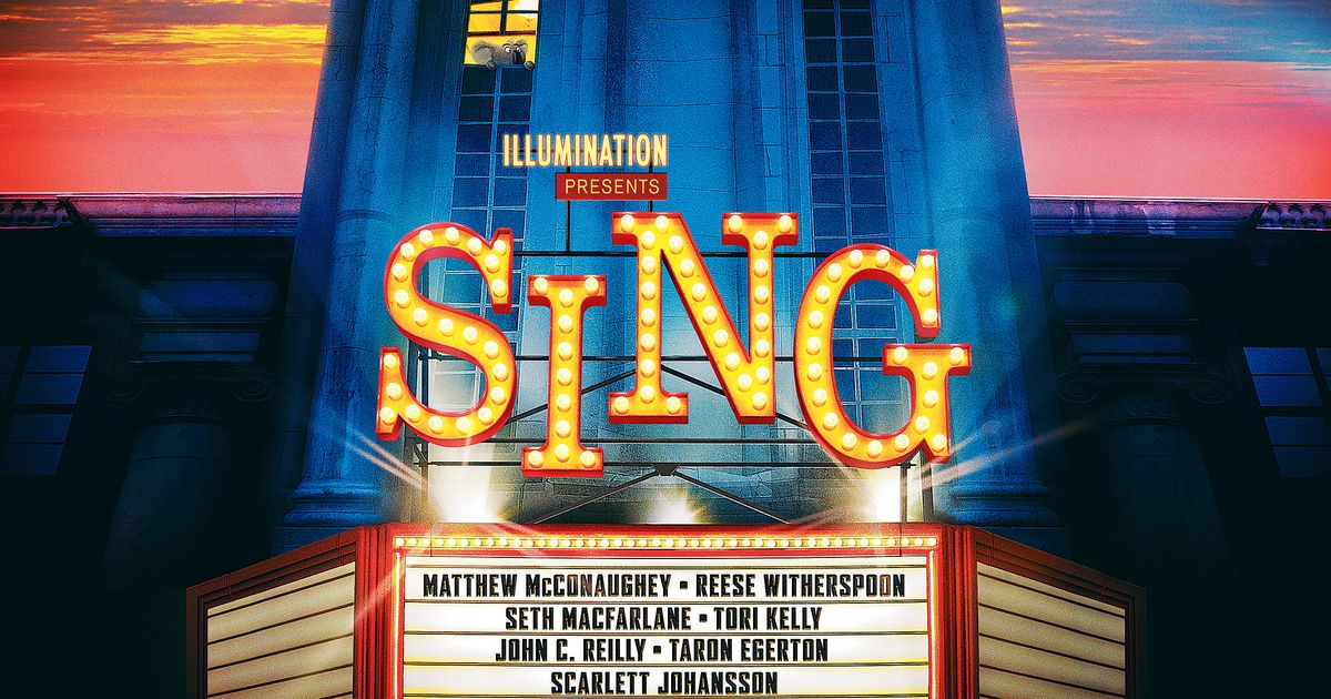sing movie 2016